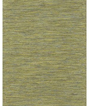 Fab Habitat Cancun Lemon Apple Green Flat Weave Recycled Cotton Rug 6 X 9 0 300x360
