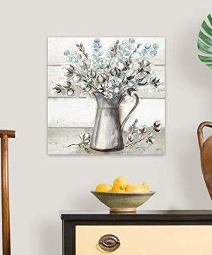 Farmhouse Cotton Tin Pitcher Canvas Wall Art Print 20x20x125 0 1 300x360