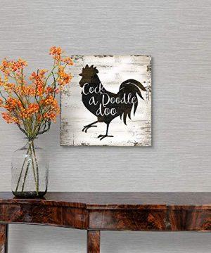 Farmhouse Rooster Canvas Wall Art Print 10x10x125 0 1 300x360