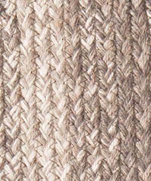 IHF Home Decor Ashwood Braided Rug 5x8 Oval Accent Floor Carpet Natural Jute Material Doormat Gray Beige Woven Collection 0 1 300x360