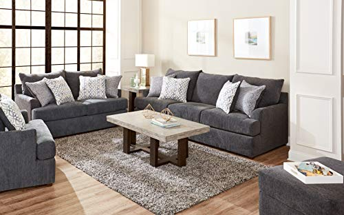 Lane Home Furnishings 8046 03 Surge Charcoal Sofa Gray 0 2