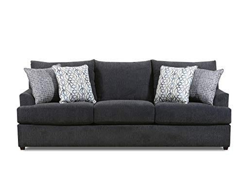 Lane Home Furnishings 8046 03 Surge Charcoal Sofa Gray 0