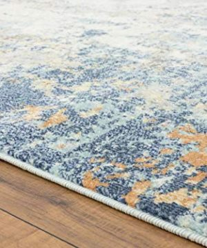 Luxe Weavers Abstract Blue Multi Colored 8x10 Area Rug 0 1 300x360