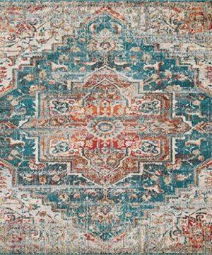 Luxe Weavers Blue 8x10 Oriental Area Rug 0 300x360