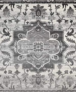 Luxe Weavers Farmhouse Abstract Gray 8x10 Area Rug 0 300x360