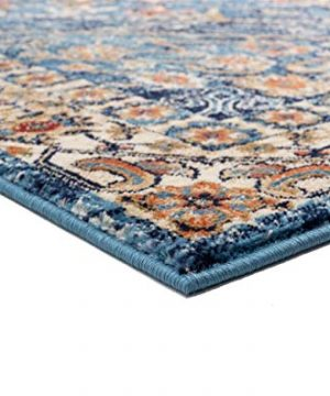 Luxe Weavers Howell Collection Oriental 8x10 Blue Area Rug 0 1 300x360
