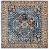Luxe Weavers Howell Collection Oriental 8x10 Blue Area Rug 0 100x100