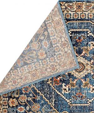 Luxe Weavers Howell Collection Oriental 8x10 Blue Area Rug 0 2 300x360