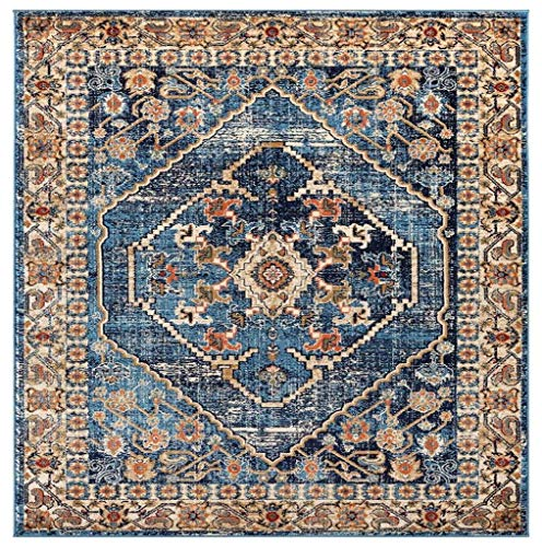 Luxe Weavers Howell Collection Oriental 8x10 Blue Area Rug 0