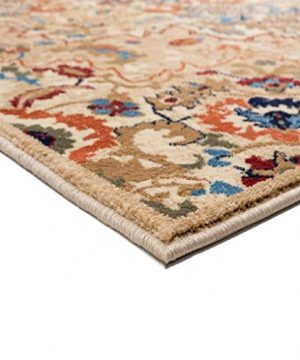 Luxe Weavers Howell Collection Oriental 8x10 Cream Area Rug 0 1 300x360