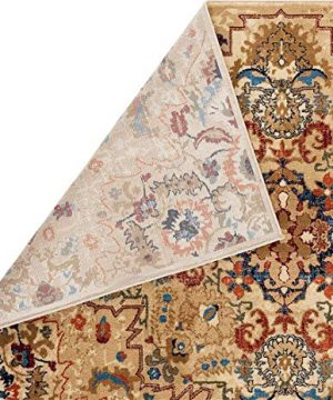 Luxe Weavers Howell Collection Oriental 8x10 Cream Area Rug 0 2 300x360