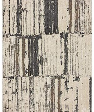 Luxe Weavers Tower Hill Abstract Gray 8x10 Area Rug 0 300x360