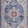 Luxe Weavers Victoria Collection Blue Oriental 8x10 Area Rug 7525 0 100x100