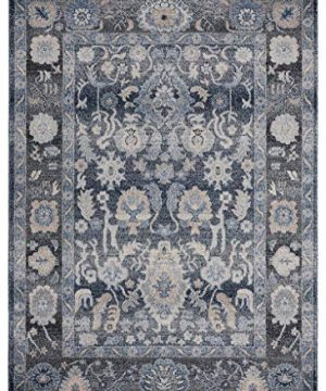 Luxe Weavers Waterloo Blue Oriental 8x10 Area Rug 0 300x360