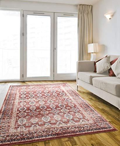 Luxe Weavers Waterloo Burgundy Oriental 8x10 Area Rug 0 0