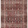 Luxe Weavers Waterloo Burgundy Oriental 8x10 Area Rug 0 100x100
