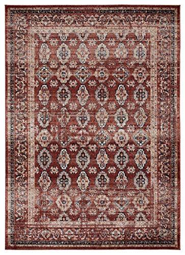 Luxe Weavers Waterloo Burgundy Oriental 8x10 Area Rug 0