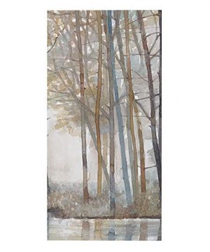 Madison Park MP95C 0041 Forest Reflections Wall Art Canvas Wall Art Rustic Home Dcor Autumn Color Bamboo Stretched Wall Art For Living Room 3 Piece Set Painting Canvas 0 2 300x360