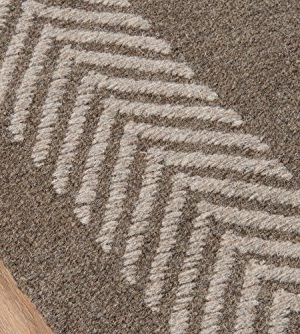 Momeni Rugs Mesa Collection 100 Wool Hand Woven Flatweave Transitional Area Rug 5 X 8 Natural Brown 0 1 300x334