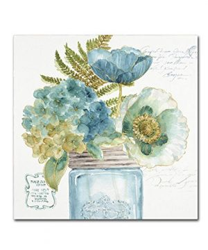 My Greenhouse Bouquet III By Lisa Audit 14x14 Inch Canvas Wall Art 0 300x360