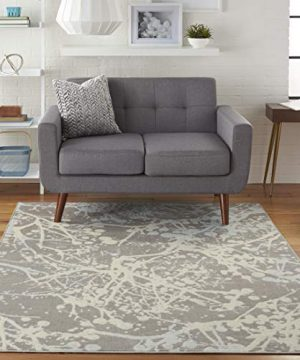 Nourison JUB12 Jubilant Abstract Grey Area Rug 4 X 6 0 300x360