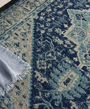 Nourison TRA06 Tranquil Persian Vintage IvoryNavy Area Rug 6 X 9 0 0 300x360