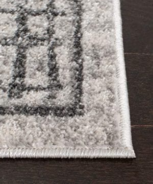 Safavieh Adirondack Collection ADR103B Silver And Ivory Modern Distressed Area Rug 3 X 5 0 1 300x360