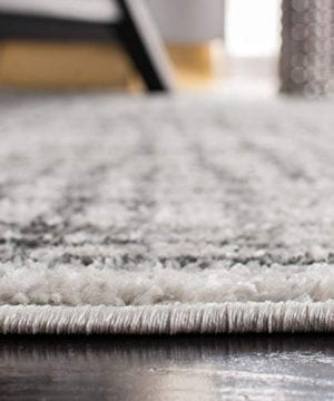 Safavieh Adirondack Collection ADR103B Silver And Ivory Modern Distressed Area Rug 3 X 5 0 2 300x360