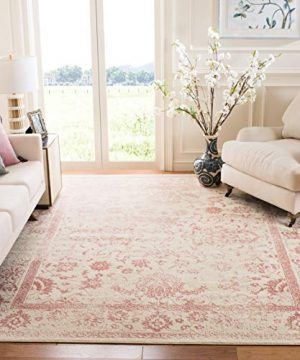 Safavieh Adirondack Collection ADR109H IvoryRose Vintage Oriental Distressed Area Rug 5 1 X 7 6 0 300x360