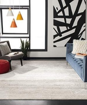Safavieh Adirondack Collection ADR113B Ivory And Silver Modern Abstract Area Rug 3 X 5 0 300x360