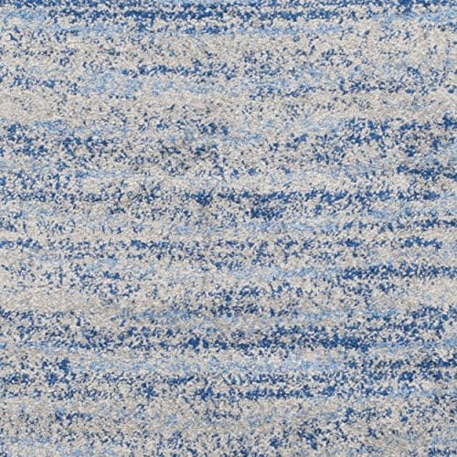 Safavieh Adirondack Collection ADR117D Blue And Silver Contemporary Area Rug 3 X 5 0 1