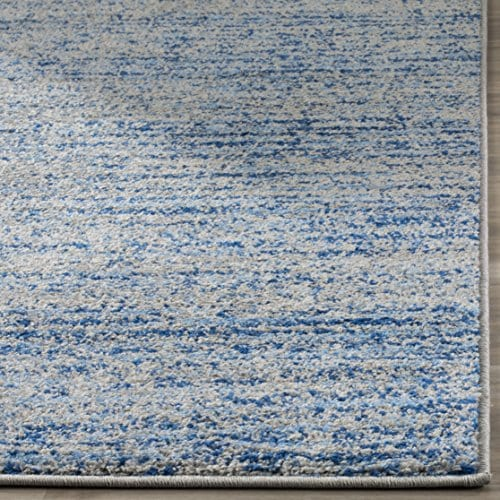 Safavieh Adirondack Collection ADR117D Blue And Silver Contemporary Area Rug 3 X 5 0