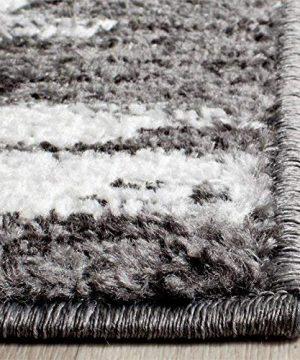 Safavieh Adirondack Collection ADR118R Charcoal And Ivory Modern Geometric Area Rug 6 X 9 0 3 300x360