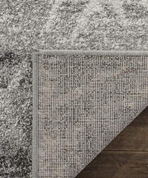 Safavieh Adirondack Collection ADR124B Silver And Ivory Vintage Geometric Area Rug 4 X 6 0 1 300x360