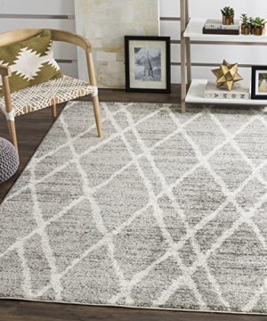 Safavieh Adirondack Collection ADR128B Ivory And Silver Vintage Area Rug 4 X 6 0 1 300x360
