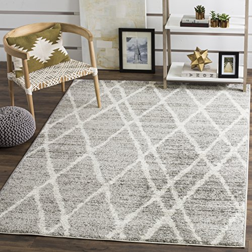 Safavieh Adirondack Collection ADR128B Ivory And Silver Vintage Area Rug 4 X 6 0 1