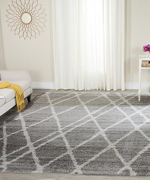 Safavieh Adirondack Collection ADR128B Ivory And Silver Vintage Area Rug 4 X 6 0 300x360