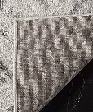 Safavieh Adirondack Collection ADR131C Modern Geometric Diamond Distressed Area Rug 4 X 6 Light GreyGrey 0 2 300x360