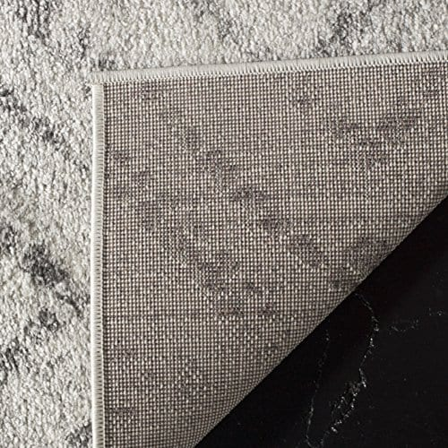 Safavieh Adirondack Collection ADR131C Modern Geometric Diamond Distressed Area Rug 4 X 6 Light GreyGrey 0 2