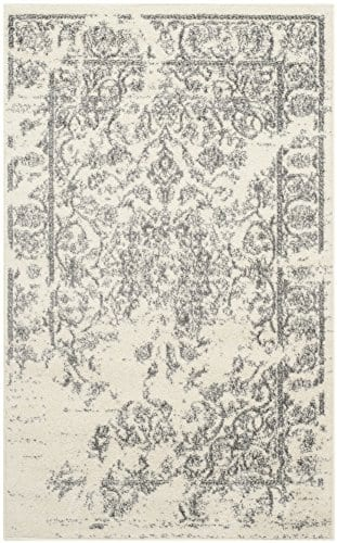 Safavieh Adirondack Collection Oriental Vintage Distressed Area Rug 3 X 5 IvorySilver 0 0