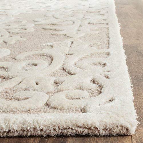 Safavieh Bella Collection Handmade Premium Wool Area Rug 6 X 9 SandIvory 0 0