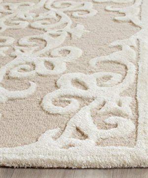 Safavieh Bella Collection Handmade Premium Wool Area Rug 6 X 9 SandIvory 0 1 300x360