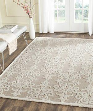 Safavieh Bella Collection Handmade Premium Wool Area Rug 6 X 9 SandIvory 0 300x360