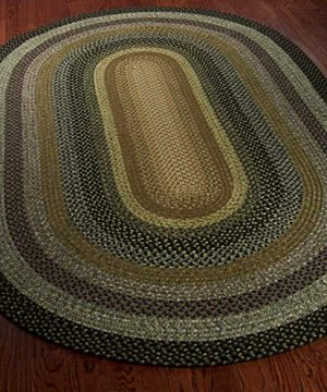 Safavieh Braided Collection BRD308A Hand Woven Reversible Area Rug 5 X 8 Oval Multi 0 1 300x360