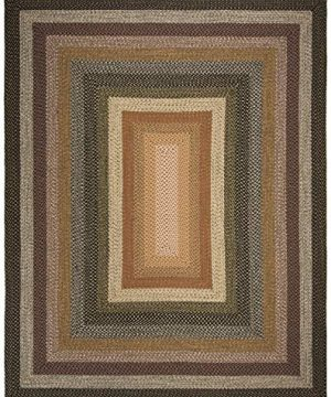 Safavieh Braided Collection BRD308A Hand Woven Reversible Area Rug 8 X 10 Multi 0 0 300x360