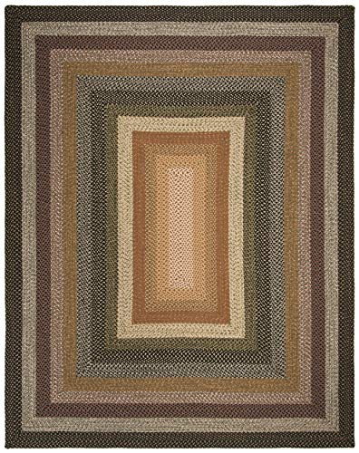 Safavieh Braided Collection BRD308A Hand Woven Reversible Area Rug 8 X 10 Multi 0 0