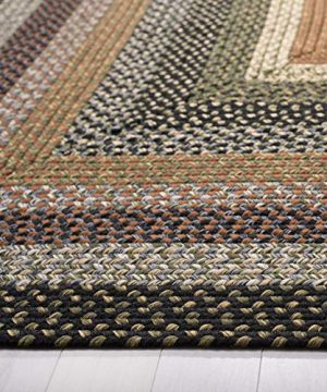 Safavieh Braided Collection BRD308A Hand Woven Reversible Area Rug 8 X 10 Multi 0 1 300x360