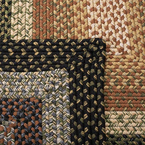 Safavieh Braided Collection BRD308A Hand Woven Reversible Area Rug 8 X 10 Multi 0 4