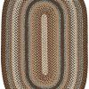 Safavieh Braided Collection BRD313A Hand Woven Reversible Area Rug 8 X 10 Oval BrownMulti 0 100x100