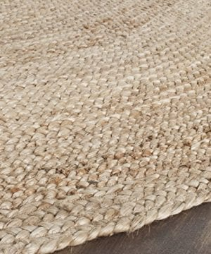 Safavieh Cape Cod Collection CAP252A Hand Woven Jute Area Rug 3 X 5 Oval Tural 0 1 300x360